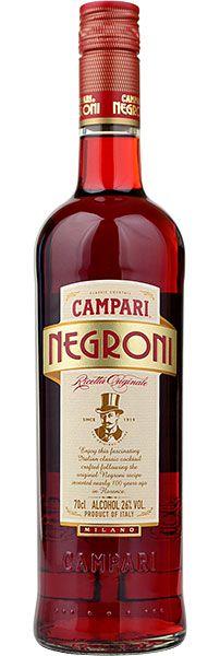 Bitter Campari Negroni 700ml