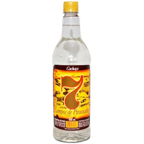 Cachaça 7 Campos 966ml Pet