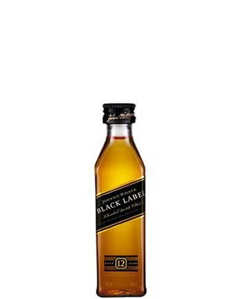 Whisky Johnnie Walker Black Label 12 anos 50ml