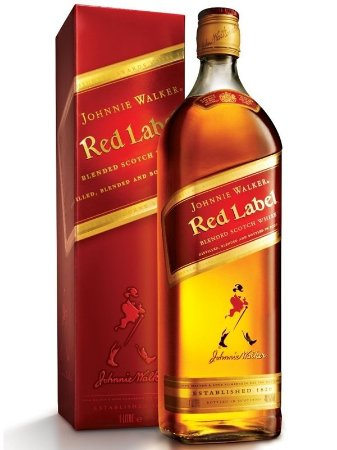 Whisky Johnnie Walker Red Label 8 anos 1l