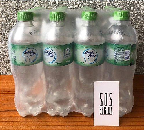 Água Santo Anjo 500ml com gás (12 unidades)