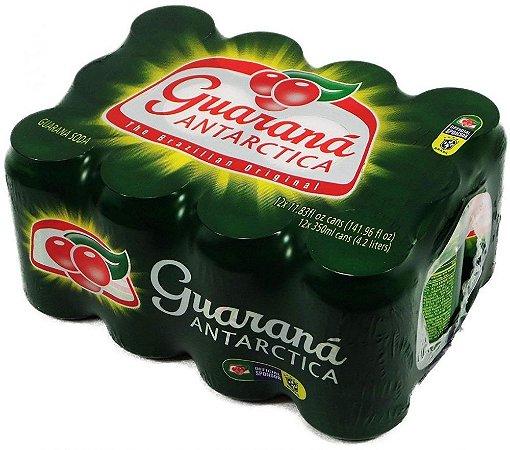 Refrigerante Guaraná Antarctica 350ml (12 unidades)