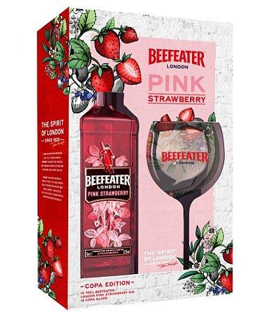 Gin Beefeater Pink London Dry 750ml + Taça de Vidro