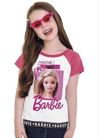 Conjunto Menina Barbie -Tam 6 -  Fakini