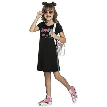 Vestido Hope Canelado  - Tam 8 -  Kely Kety