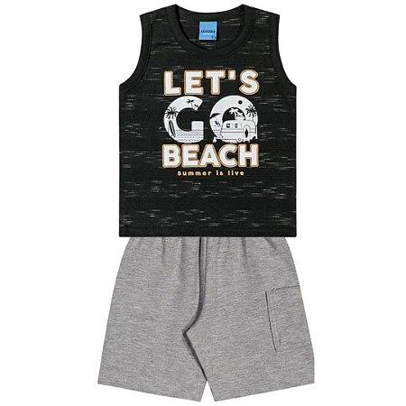 Conjunto Menino Let´s Go Beach - Tam 3 - WRK