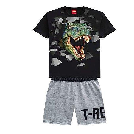 Conjunto Menino T-Rex  - Tam 1 - Kyly