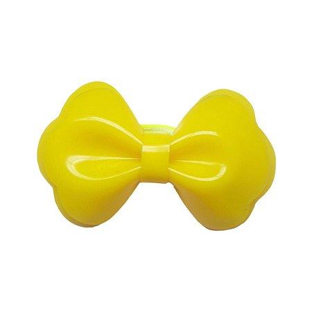 Elástico de Cabelo Laço Piscina Amarelo