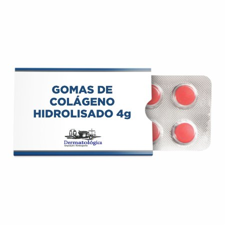 Goma de Colágeno 4g  - sabores variados