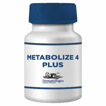 Metabolize 4 Plus  500mg - 30 Cápsulas