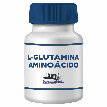 Glutamina 1000mg - 60 Cápsulas