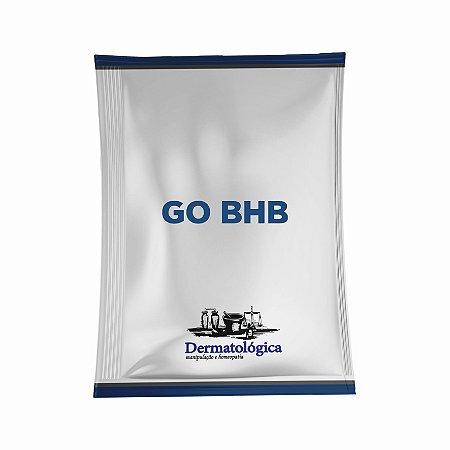 Go BHB - Betahidroxibutirato, substrato nutricional para auxiliar em Dietas Cetogênicas, Low Carb e Jejum Intermitente - Código 9230