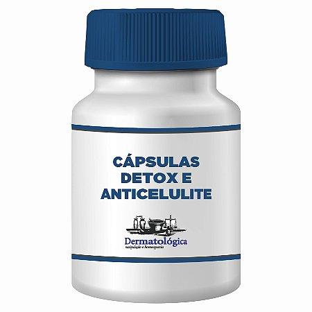 Capsulas para Detox elimina gordura localizada e celulite