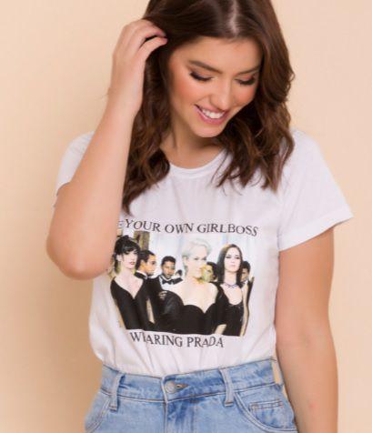 T-shirt girlboss
