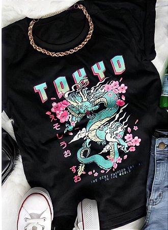 T-shirt Tokyo Black