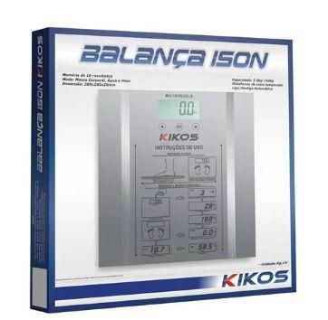 Balança Digital Ison Prata - KIKOS