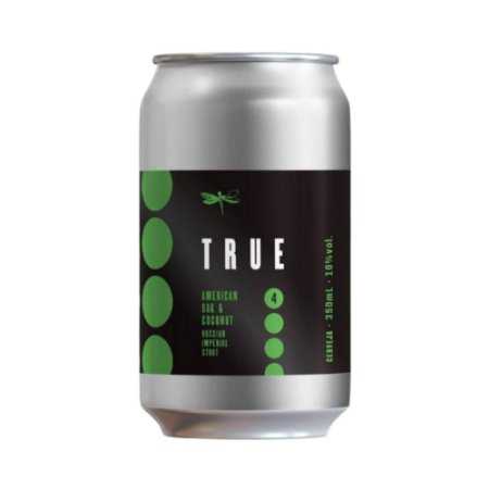 Cerveja Dádiva True 4 OAK e Coconut RIS 350ml