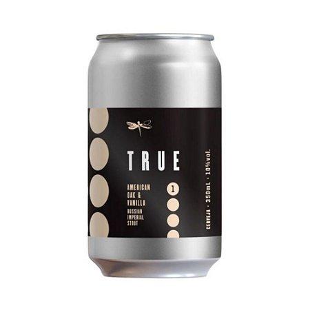 Cerveja Dádiva True 1 Oak E Vanilla RIS Lata 350ml