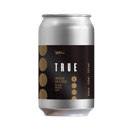 Cerveja Dádiva True 3 Oak E Cocoa RIS 350ml