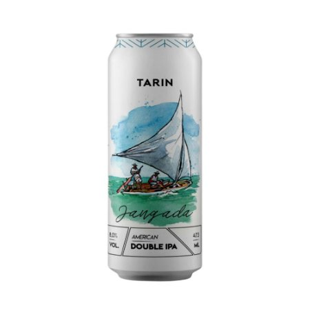 Cerveja Tarin Jangada American Double IPA 473ml