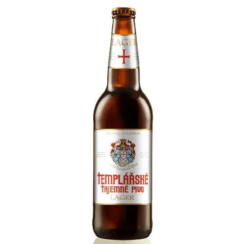 Cerveja Templarske Tajemne Pivo Lager Czech Premium 500ml