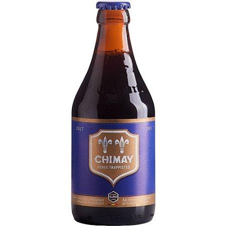 Cerveja Chimay Grande Réserve Blue Belgian Dark Strong Ale 330ml