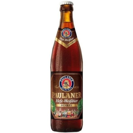 Cerveja Paulaner Hefe Weiss Dunkel 500ml