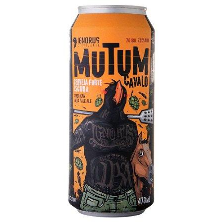 Cerveja Ignorus Mutum Cavalo American IPA Lata 473ml