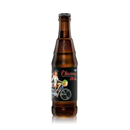 Cerveja Bodebrown Obscena Hopin-Up American IPA 330ml