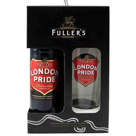 Kit Cerveja e Copo Fuller's London Pride Premium Ale 500ml