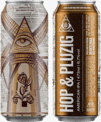 Cerveja Dogma Hop & Pluzig American IPA 473ml