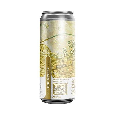 Cerveja Fermi Curiosity New England APA 473ml