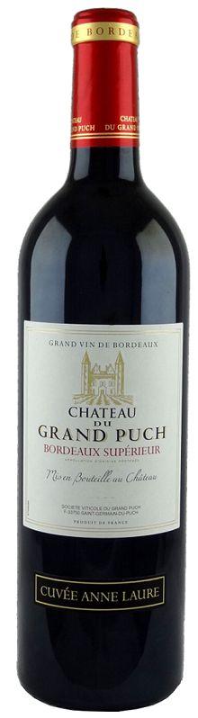 Vinho Tinto Chateau du Grand Puch Bordeaux Supérieur França 2016