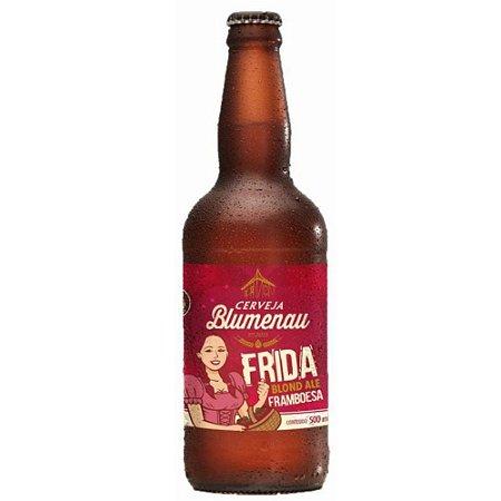 Cerveja Blumenau Blonde Ale Com Framboesa 500ml