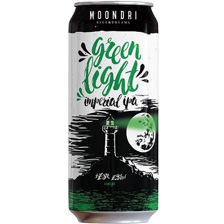 Cerveja Moondri Green Light Imperial IPA 473ML