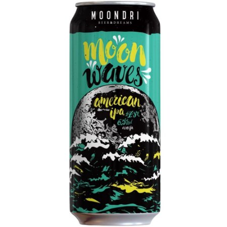 Cerveja Moondri Moon Waves American IPA 473ml