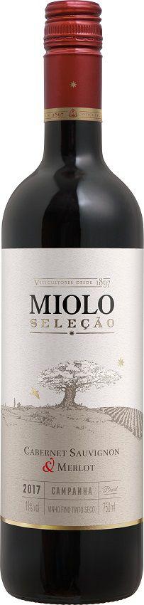 Vinho Tinto Seleção Cabernet Sauvignon e Merlot Safra 2017 750ml