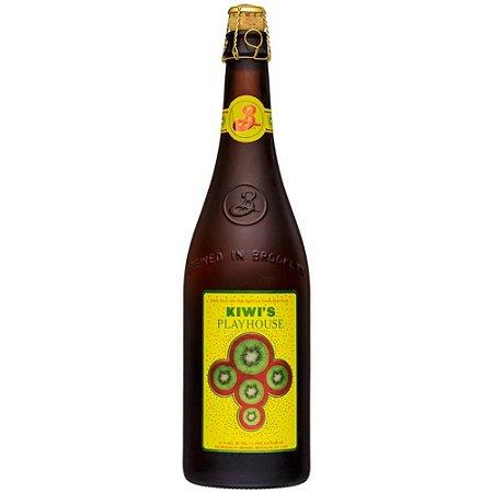 Cerveja Brooklyn Kiwis Playhouse Garrafa 750ml