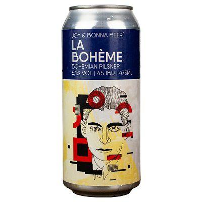 Cerveja Joy La Boheme Pilsner 473ML