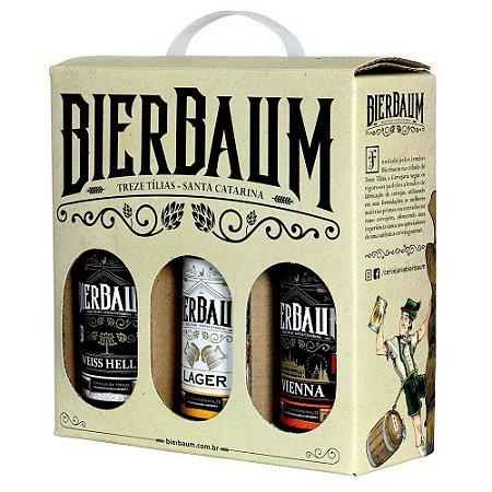 Kit de Cervejas Bierbaum 3 Garrafas