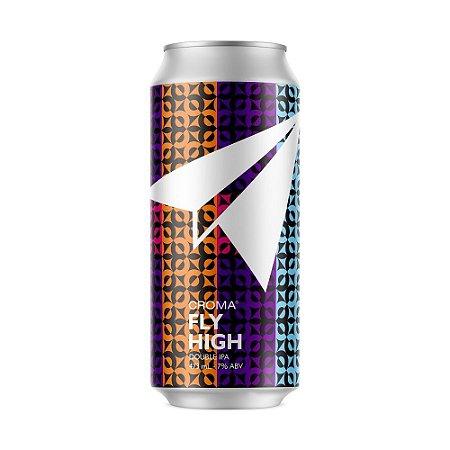 Cerveja Croma Fly High Double IPA Lata 473ml
