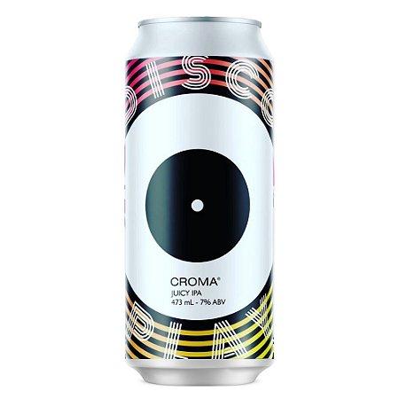 Cerveja Croma Disco Play Juicy IPA Lata 473ML