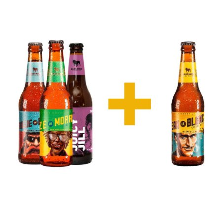 Pack de Cerveja Bastards 3 Cervejas +1 Bastards de Brinde