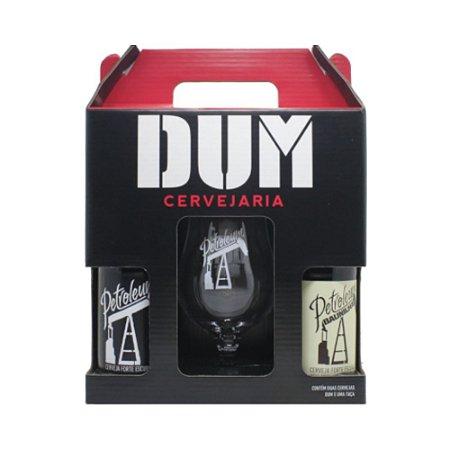 Kit DUM Petroleum - Cervejas com Taça