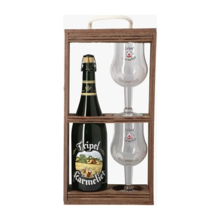 Kit de Cerveja Tripel Karmeliet 1 Garrafa + 2 Taças