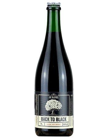 Cerveja DE RANKE Back to Black Aged On Wood 750ML