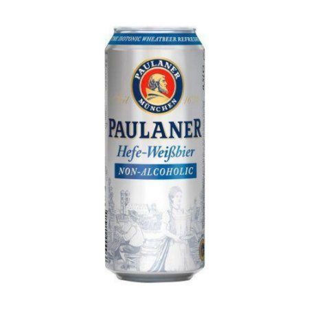 Cerveja Sem Álcool Paulaner Weissbier 0,0% Lata 500ml