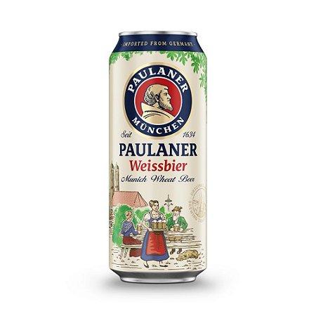Cerveja Paulaner Weiss Dunkel Lata 500ml