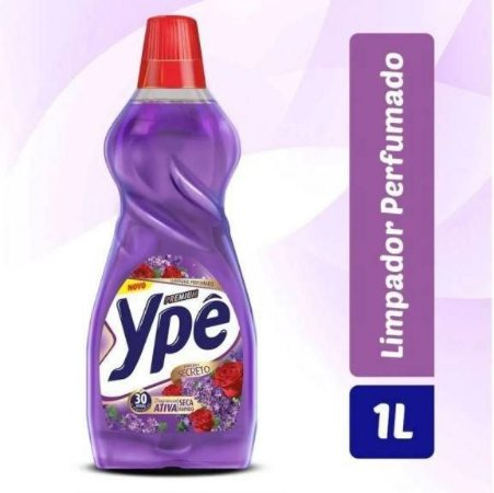 Limpador Perfumado Ypê Premium Jardim Secreto 1L