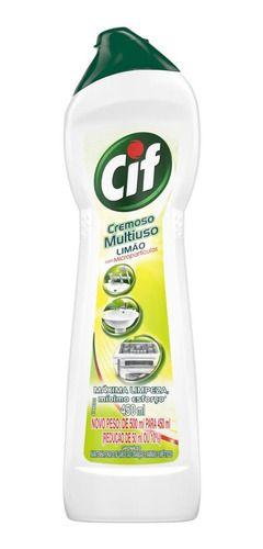Limpador CIF Cremoso Limão 450ml